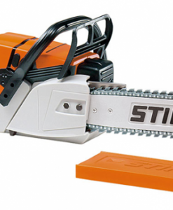 Children's battery-operated Stihl toy chainsaw