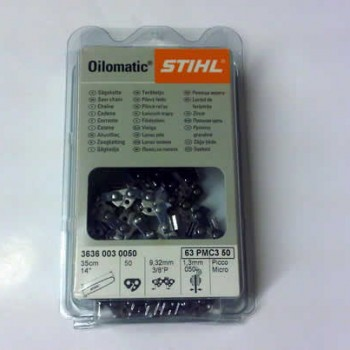 Stihl 16 Inch .325 pitch 1.6mm Chainsaw Chain 3629 003 0067