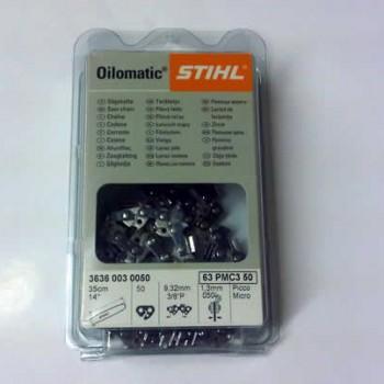 Stihl 3/8 pitch 1.6mm Chainsaw Chain 3621 003 0056