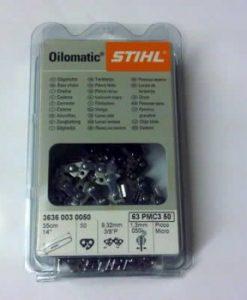 Stihl 3/8 pitch 1.6mm Chainsaw Chain 3652 003 0072