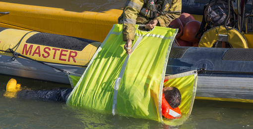 HYPOHOIST MAN OVERBOARD RECOVERY SYSTEM