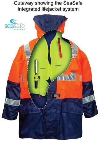 TC180 Twin Chamber Coat with integrated LifeJacket