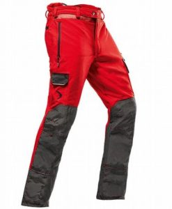 Pfanner Arborist A Red Chainsaw Trousers