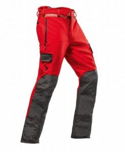 Pfanner Arborist C Red Chainsaw Trousers