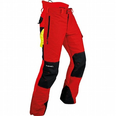 Pfanner Gladiator A Class 2 Red Chainsaw Trousers
