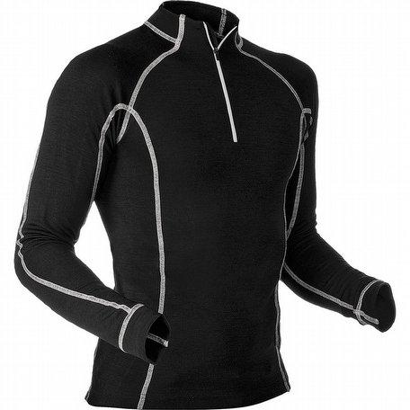 Pfanner Merino Modal Shirt Long Sleeves Black