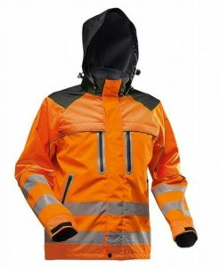 Pfanner Nanoshield Rain Jacket EN20471 Orange