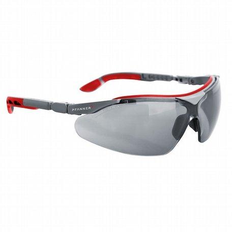 Pfanner Nexus Safety Glasses Smoke Grey