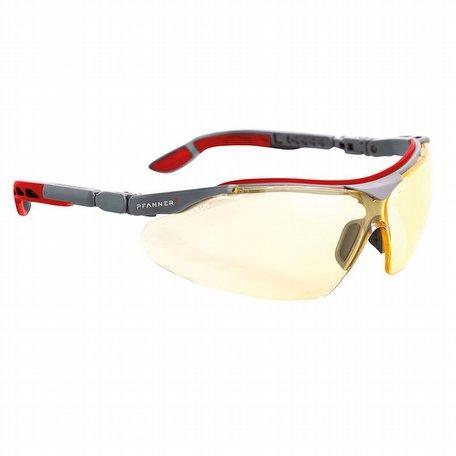 Pfanner Nexus Safety Glasses Yellow