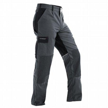 Pfanner StretchZone Canvas Trousers Grey Black