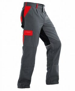 Pfanner StretchZone Canvas Trousers Grey Red