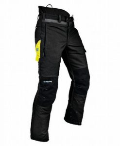 Pfanner Ventilation A Chainsaw Trousers Black