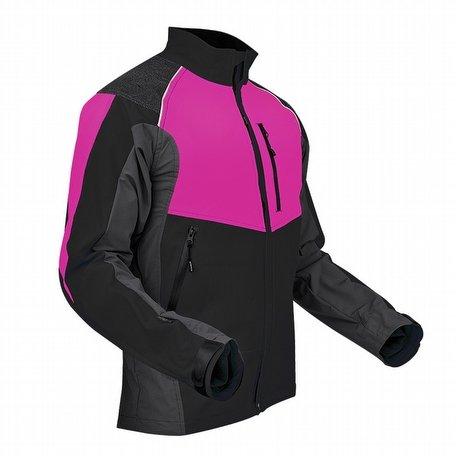 Pfanner Ventilation Jacket Black Pink