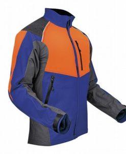 Pfanner Ventilation Jacket Blue Orange