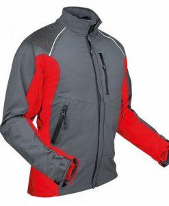 Pfanner Ventilation Jacket Grey Red