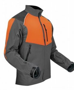Pfanner Ventilation Jacket Olive Orange