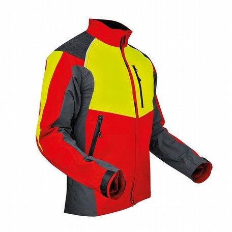 Pfanner Ventilation Jacket Red Yellow