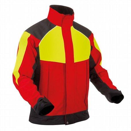 Pfanner Ventura Rain Jacket Red Yellow