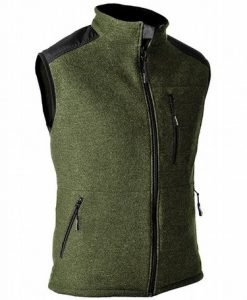 Pfanner Wooltec Gilet Olive