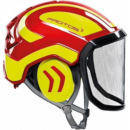 Protos Integral Arborist Red Yellow