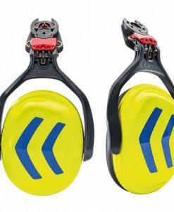 Protos Integral Ear Defenders Neon Yellow Blue
