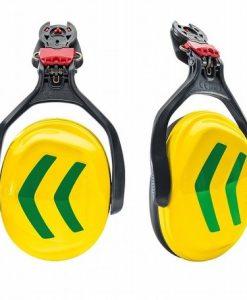 Protos Integral Ear Defenders Neon Yellow Green
