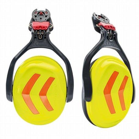 Protos Integral Ear Defenders Neon Yellow Orange