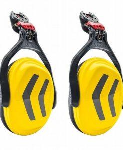 Protos Integral Ear Defenders Yellow Grey