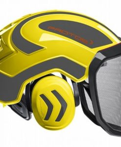Protos Integral Forest Helmet Yellow Grey