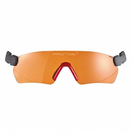 Protos Integral Integrated Safety Glasses Amber
