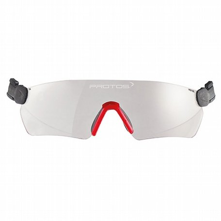 Protos Integral Integrated Safety Glasses Clear