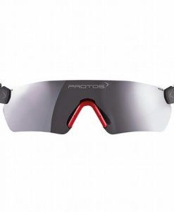 Protos Integral Integrated Safety Glasses Grey Mirror