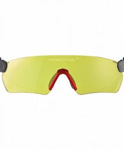 Protos Integral Integrated Safety Glasses Yellow