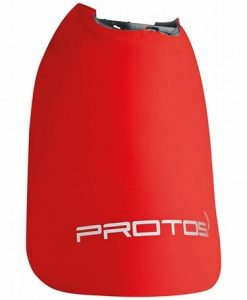 Protos Integral Neck Cape Red
