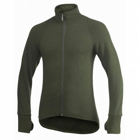 Woolpower Full Zip Jacket 400 Green