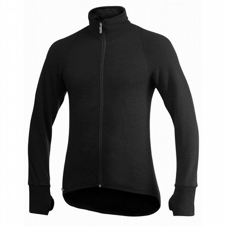Woolpower Full Zip Jacket 600 Black