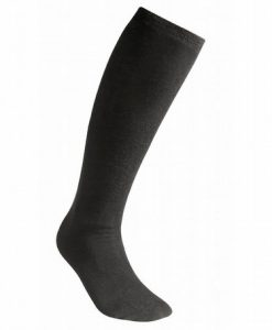 Woolpower LITE Socks Liner Knee High Black