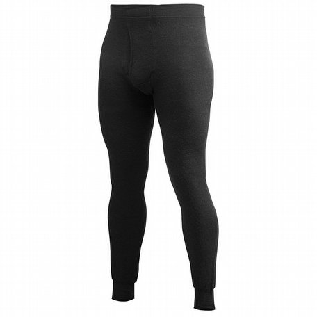 Woolpower Long Johns with Fly 400 Black