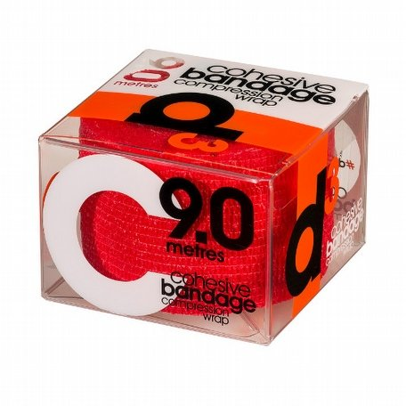 d3 Cohesive Bandage 50 Red